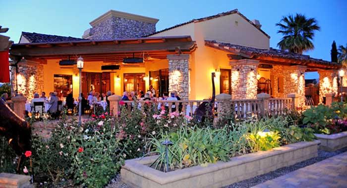 La Spiga Patio Dining Palm Springs Real Estate