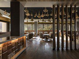 Kimpton Palm Springs California 4 Saints Restaurant Bar Dining Room Views Open Restaurant Palm Springs Real Estate