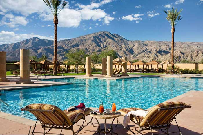 Andalusia Laquinta Pool 700 Palm Springs Real Estate